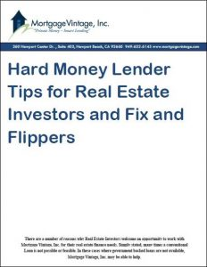 hard money lender tips for Fix and flip, fix and rent