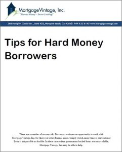tips for hard money borrowers